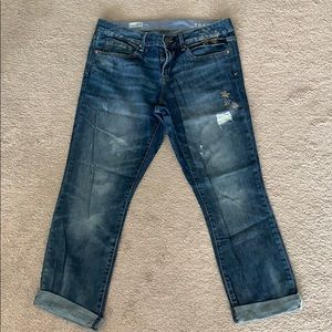 Gap Real Straight Cuffed Jeans